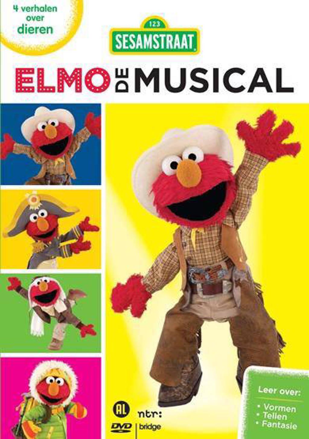 Sesamstraat Elmo de musical - Elmo en de dieren (DVD)