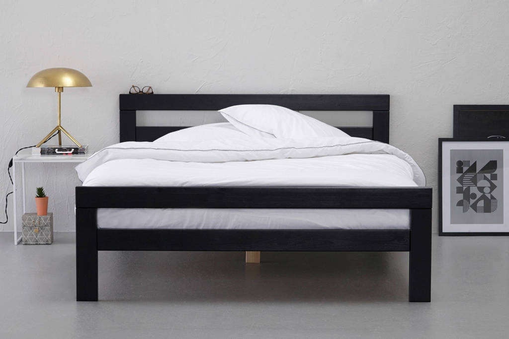 wehkamp home Bed Capri (140x200 cm), Zwart