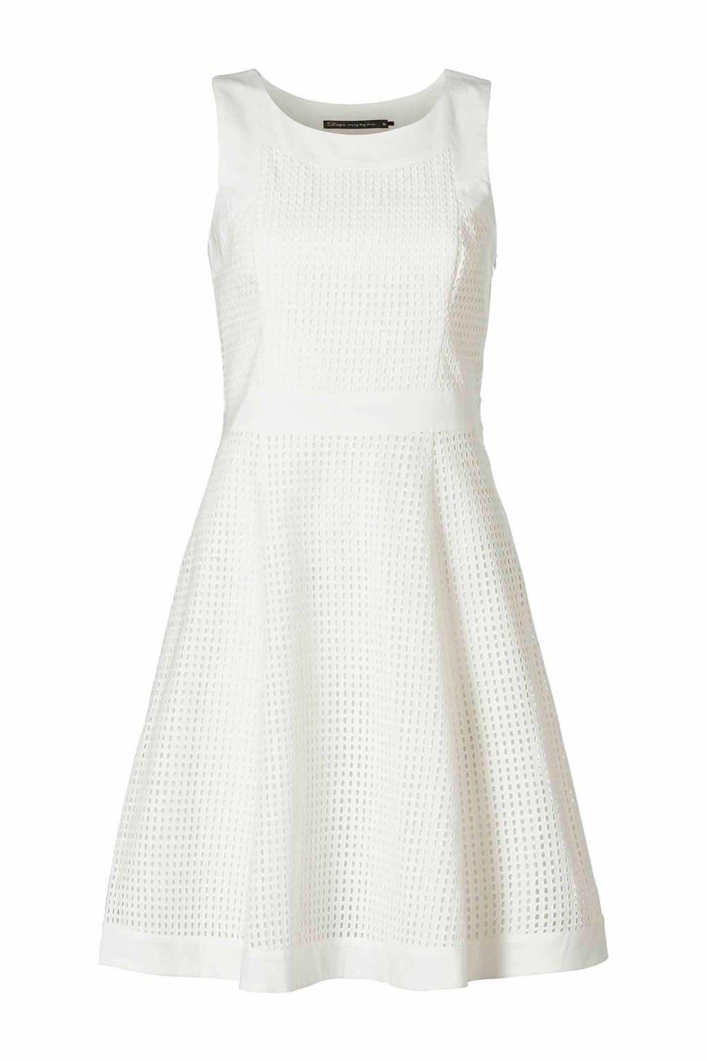 Steps jurk, Gebroken wit