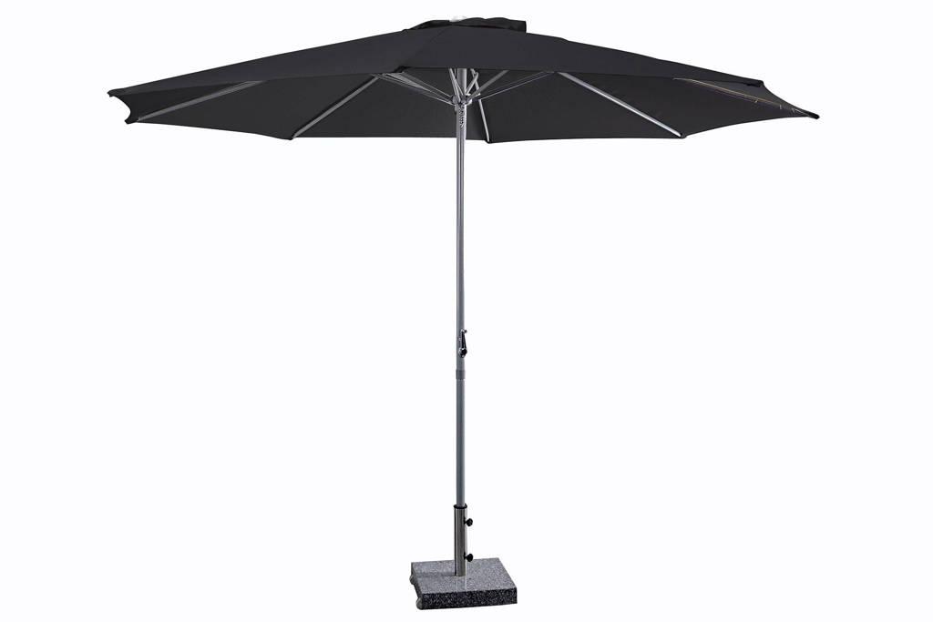 SenS-Line parasol Salou (3ø m), Zwart