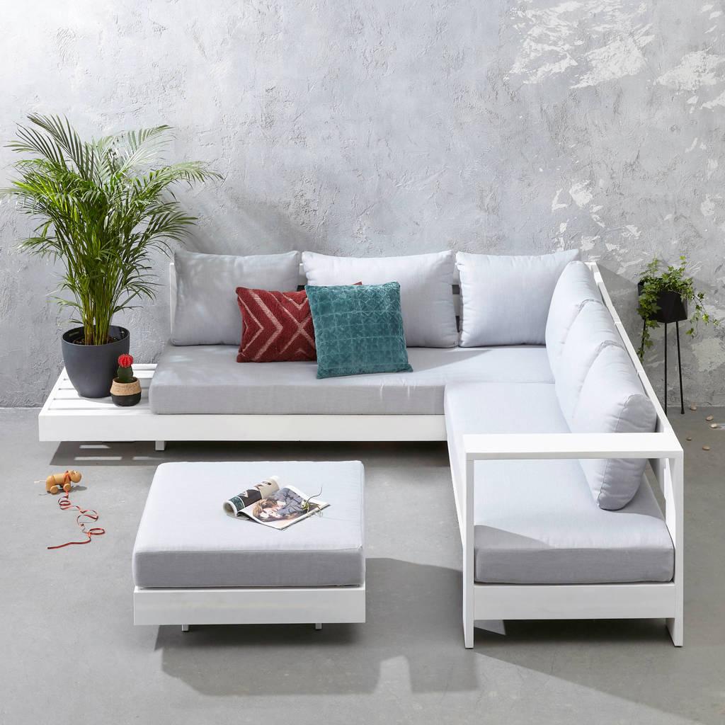 whkmp's own loungeset Belmonte, Wit/grijs