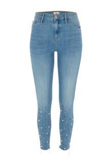 skinny fit jeans Molly met parels