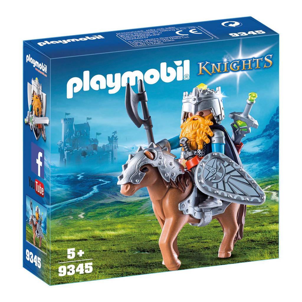 Playmobil Knights dwerg met gevechtspony 9345