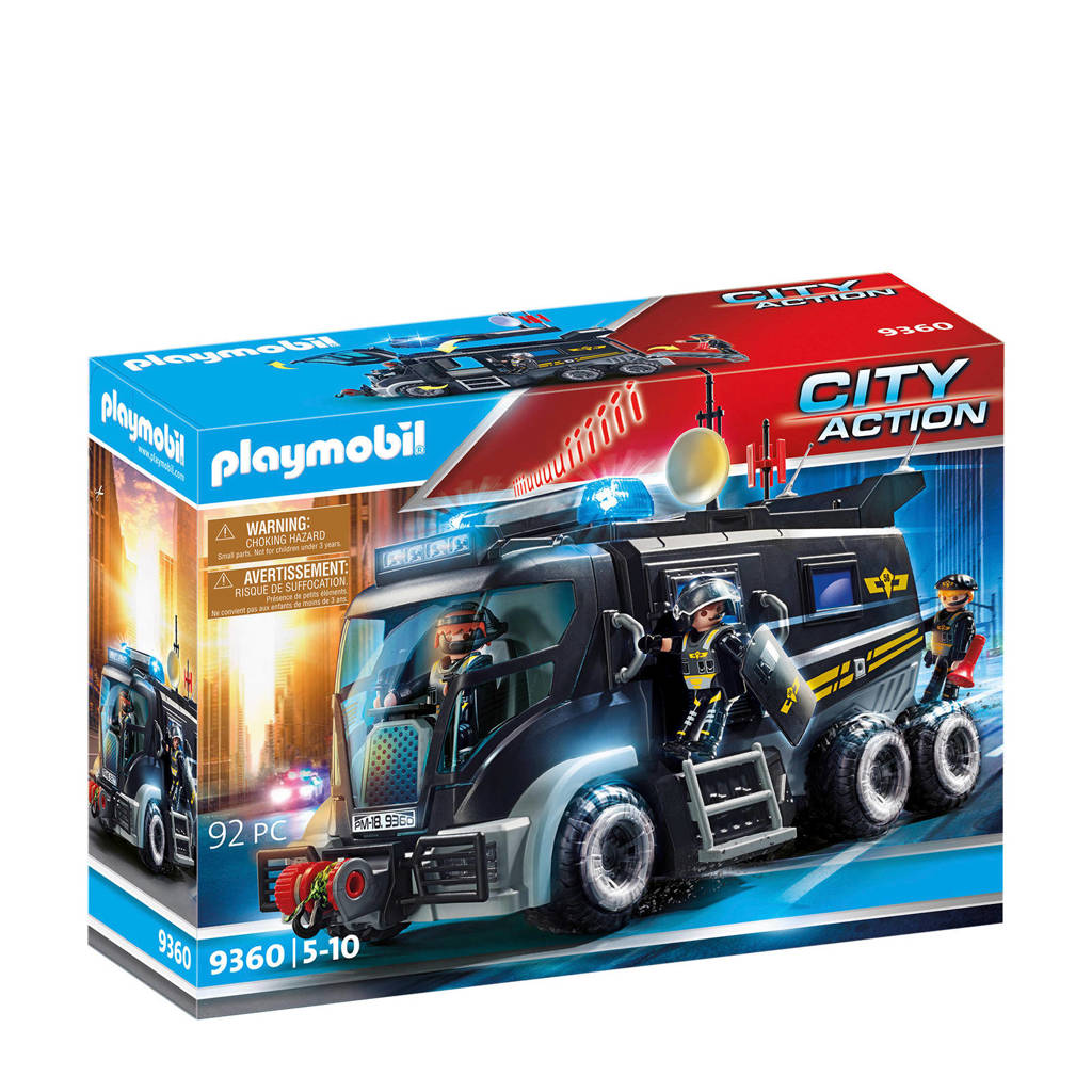 Playmobil City Action  SIE-truck met licht en geluid