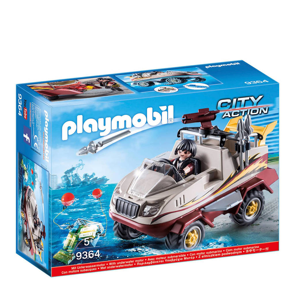 Playmobil City Action amfibievoertuig  9364