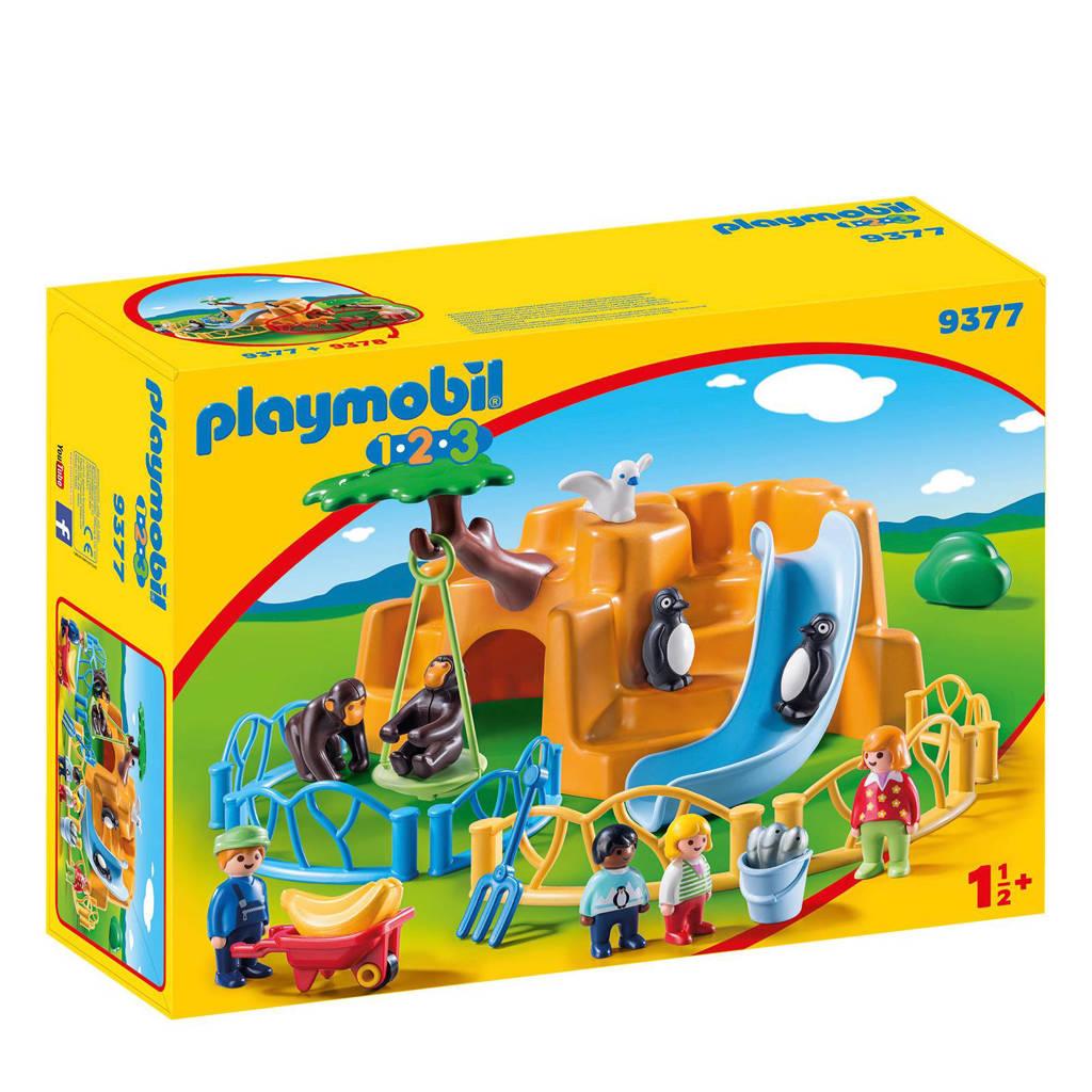 Playmobil 1-2-3 dierenpark  9377