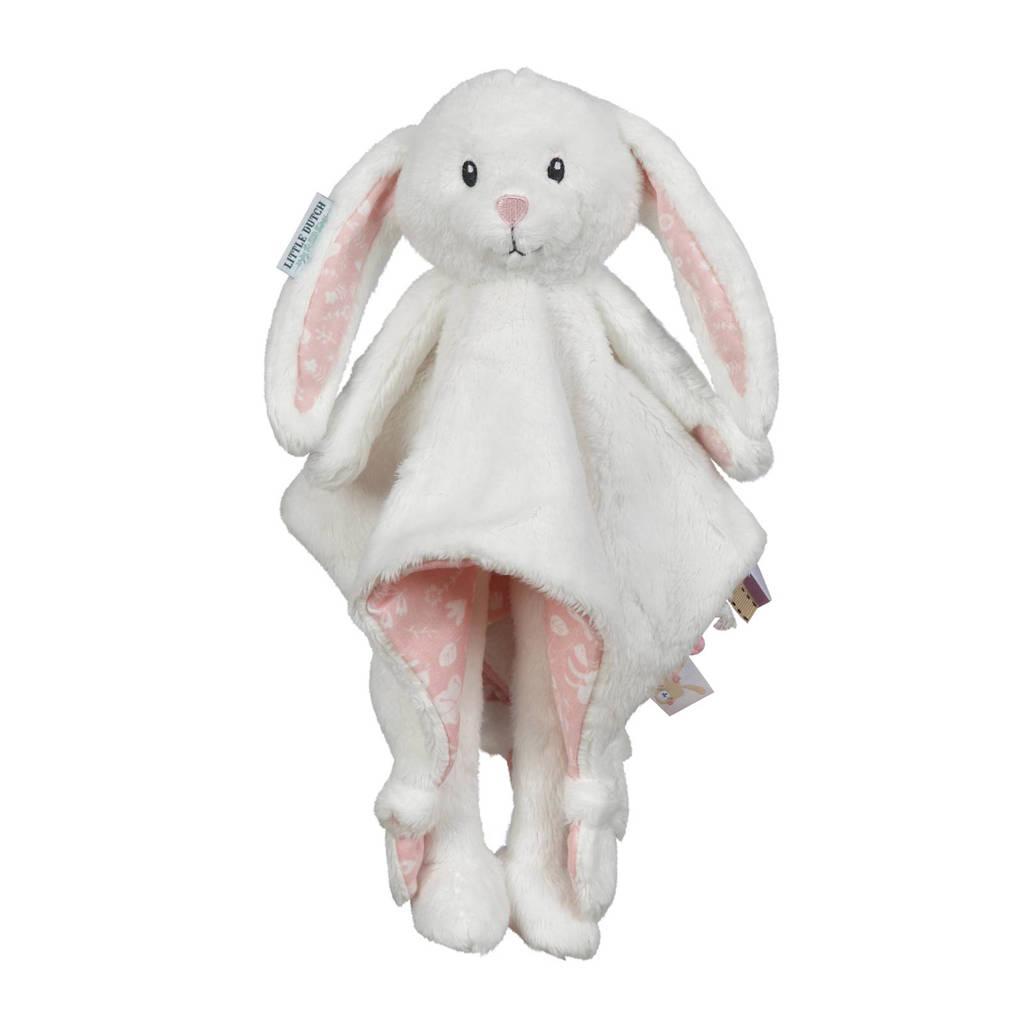 Little Dutch lang konijn knuffeldoekje, Roze