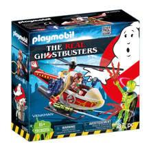 Ghostbusters Venkman met helikopter 9385