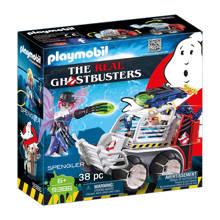 Ghostbusters Spengler met kooiwagen 9386