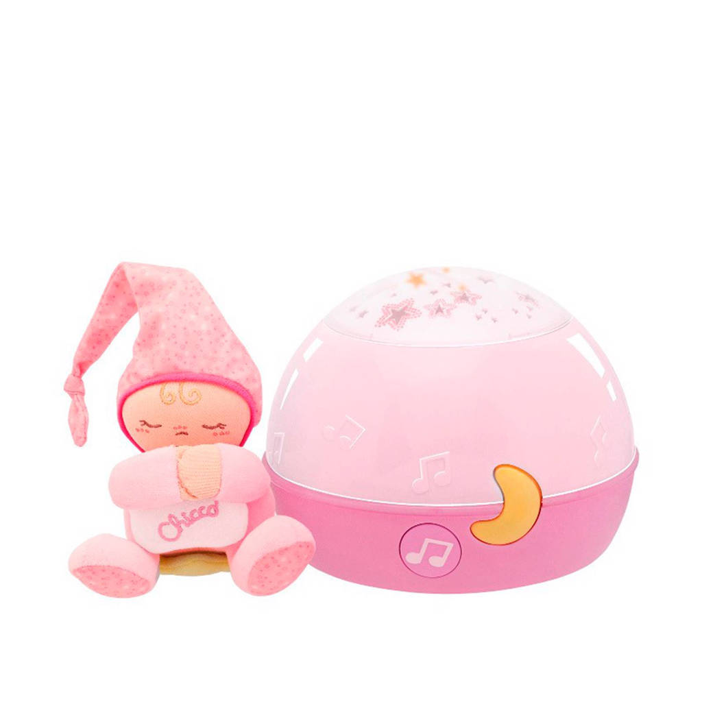 Chicco First Dreams goodnight stars projector, Roze
