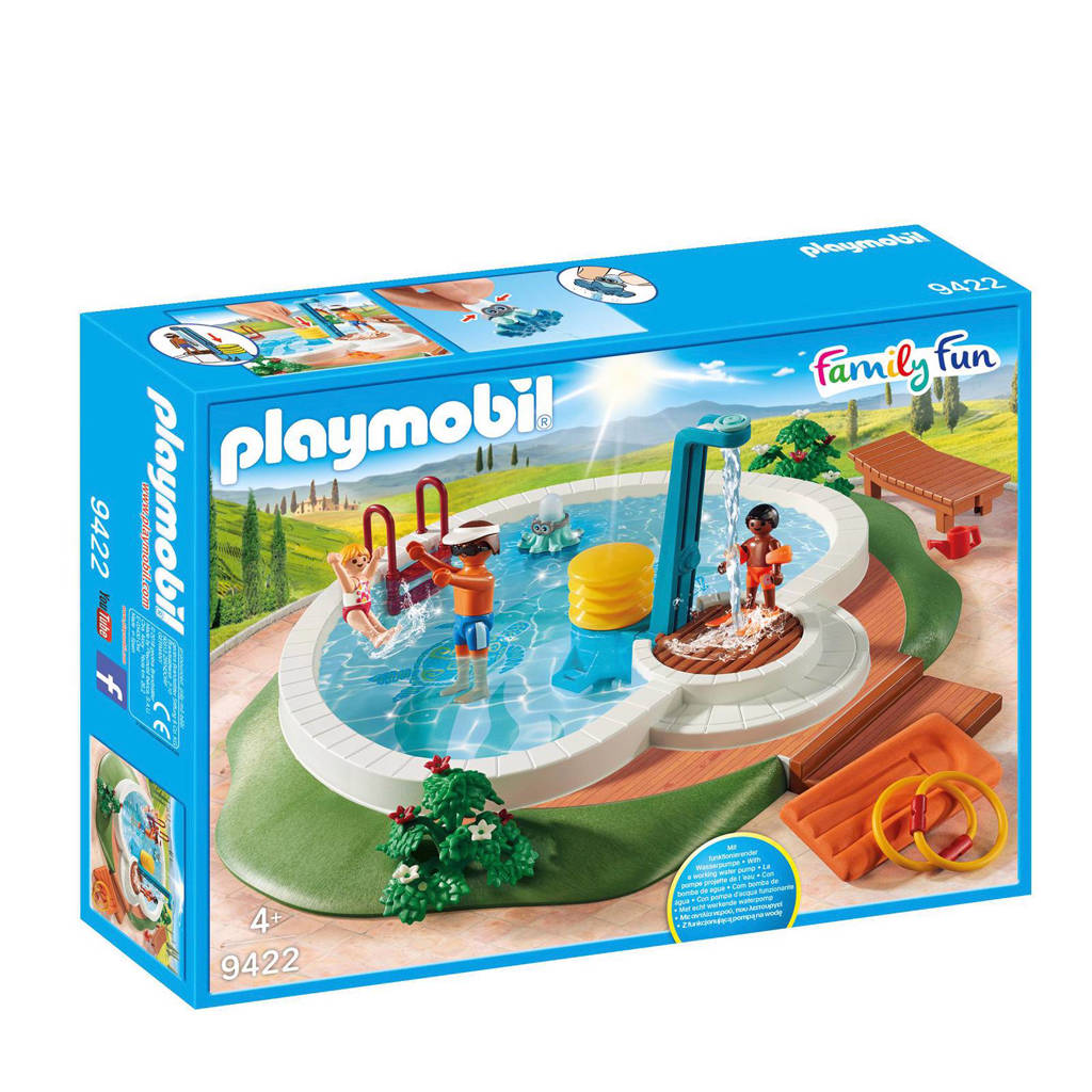 Playmobil Family Fun zwembad 9422