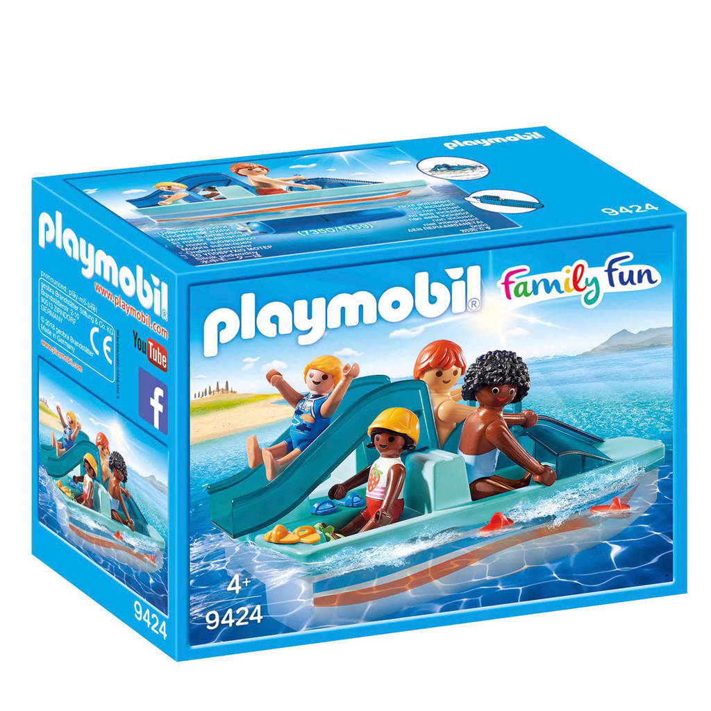 Playmobil Family Fun waterfiets met glijbaan 9424