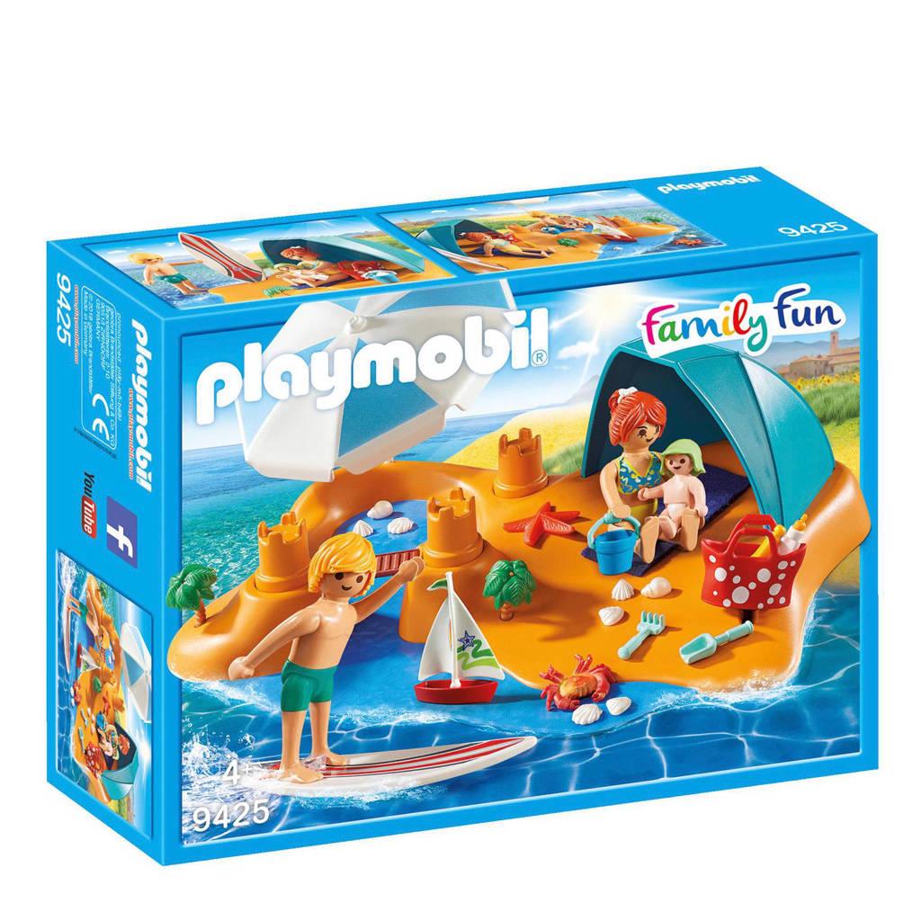 Playmobil Family Fun familie aan het strand 9425