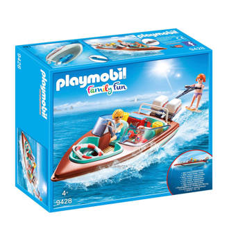 Family Fun motorboot met onderwatermotor 9428