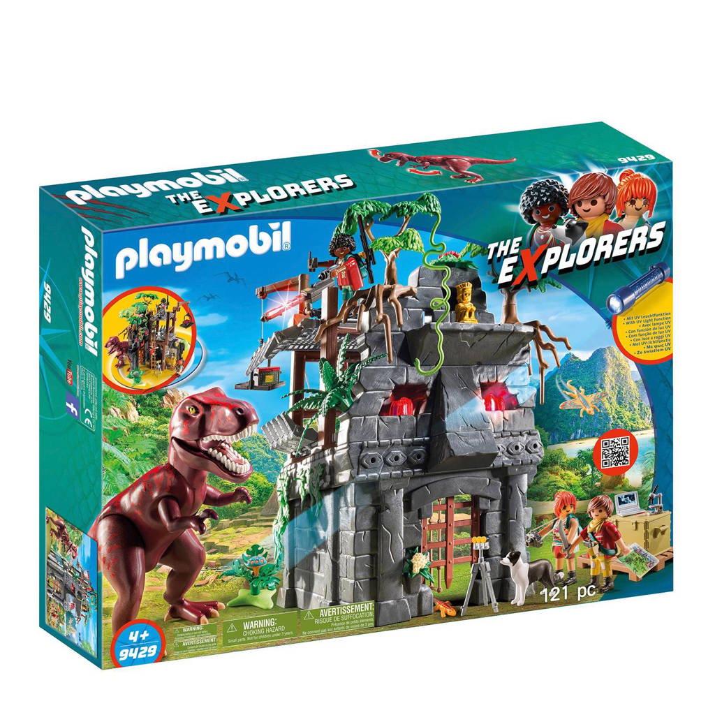 Playmobil Dinos basiskamp van de avonturiers met T-Rex 9429