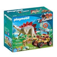 Playmobil Dinos avonturiersbuggy met Stegosaurus 9432