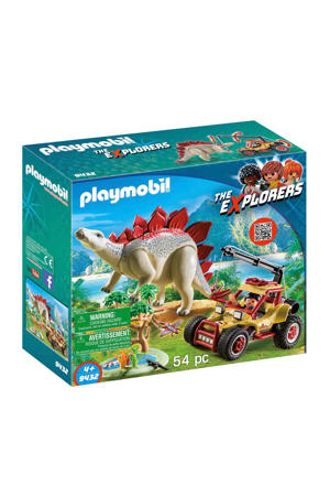 avonturiersbuggy met Stegosaurus 9432