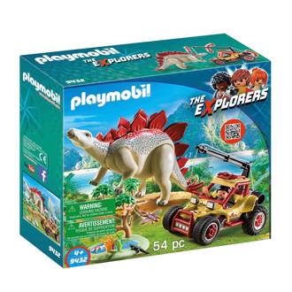 Dinos avonturiersbuggy met Stegosaurus 9432