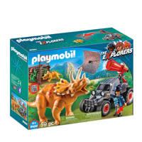 Playmobil Dinos offroad buggy met dinovangnet 9434