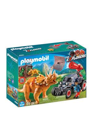 Dinos offroad buggy met dinovangnet 9434