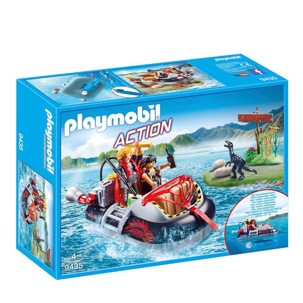 Playmobil Action hovercraft met onderwatermotor 9435