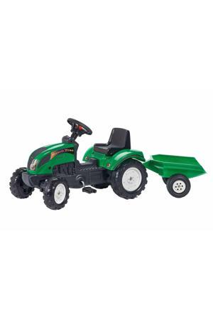 tractor met aanhanger Ranch
