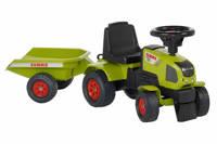 Falk  tractor met aanhanger Claas Axos 310