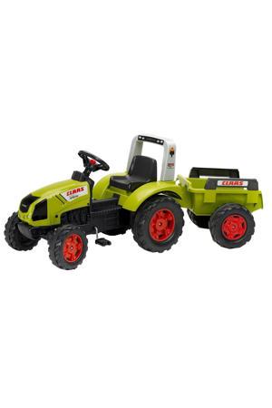 tractor met aanhanger Claas Arion 430