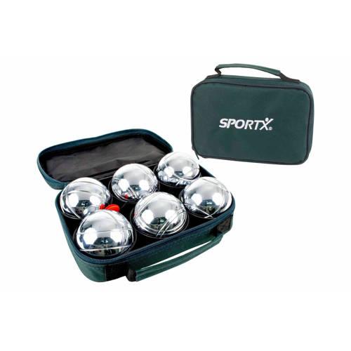SportX Jeu De Boule Ballen 6 Stuks in Tas