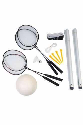 SportX badminton- en volleybalset