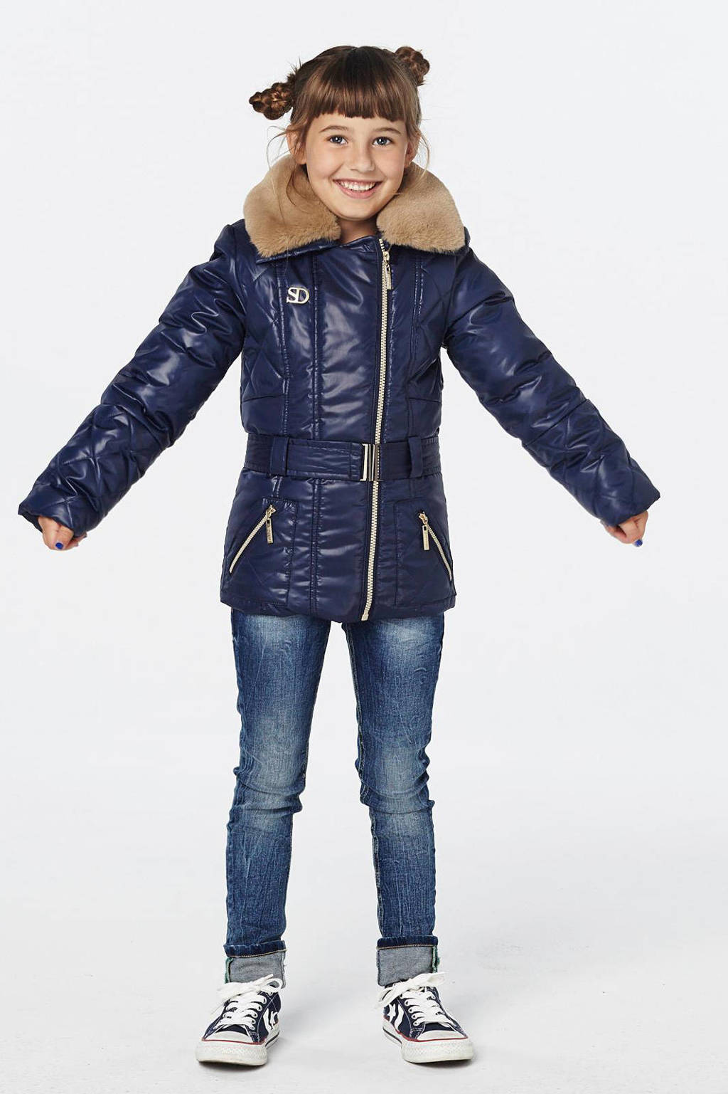 Salty Dog winterjas, Donkerblauw