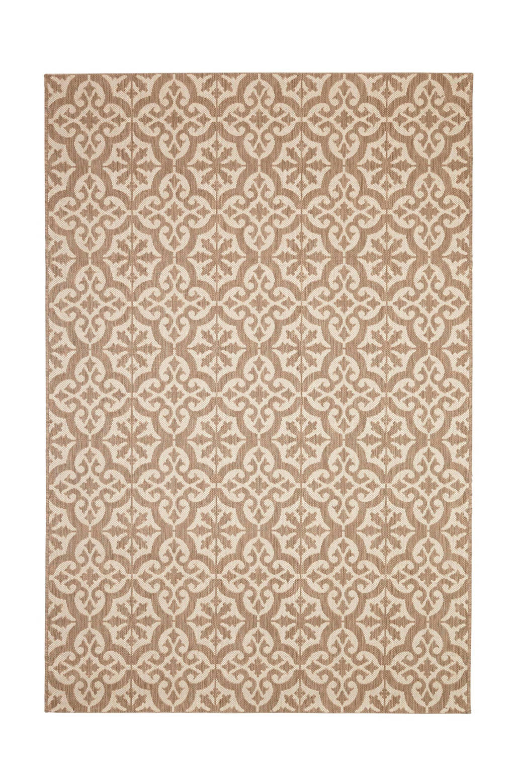 whkmp's own Vloerkleed  (230x160 cm), Bruin/ecru