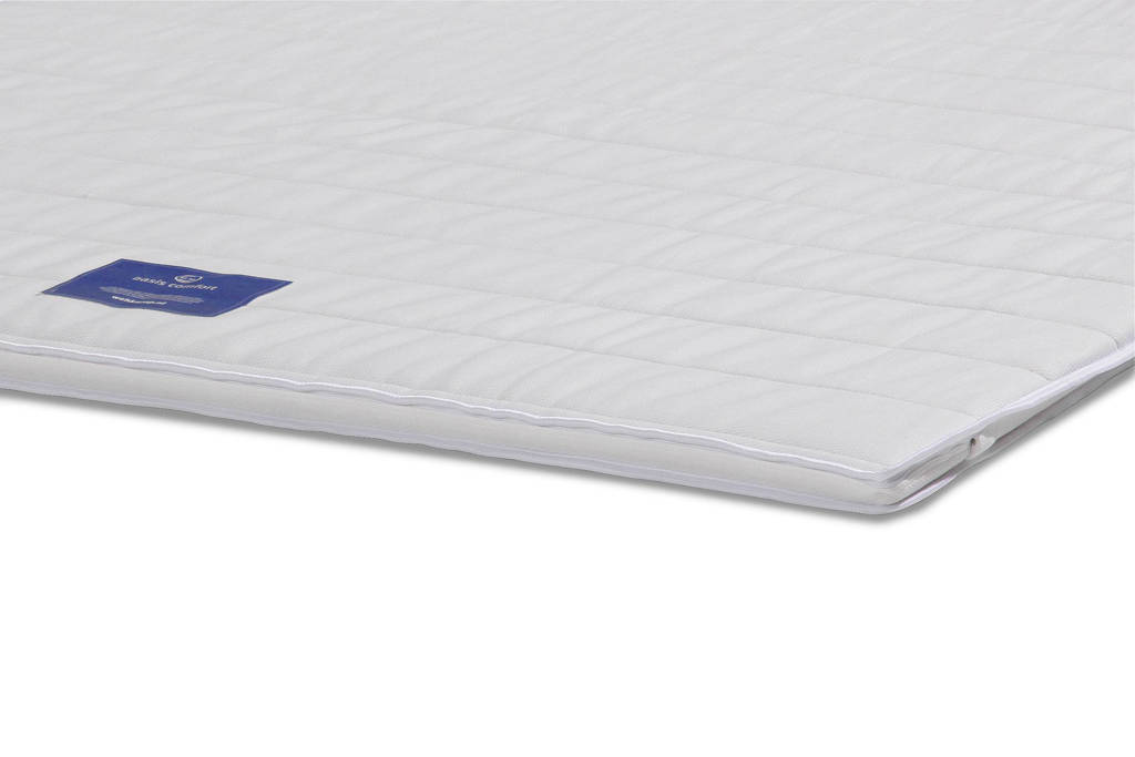 Wehkamp Home polyether topmatras Basis (140x200 cm), Wit