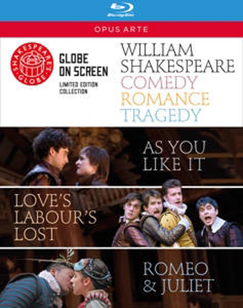 Globe Theatre - Comedy Romance Tragedy (Blu-ray)