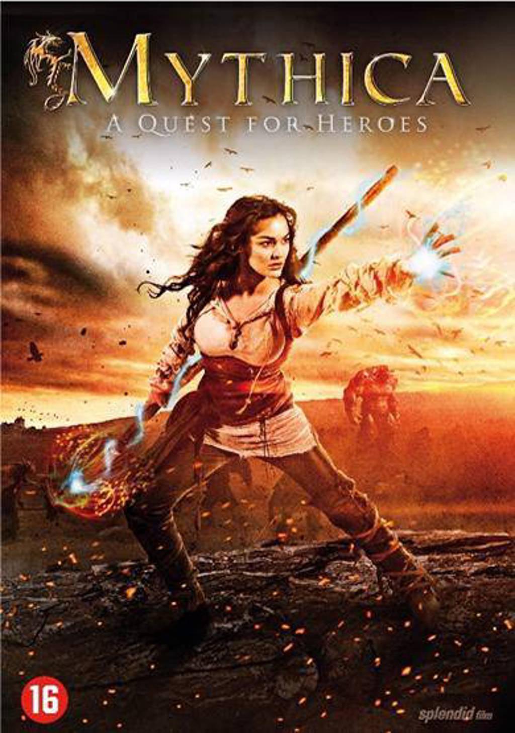 Mythica - A quest for heroes (DVD)