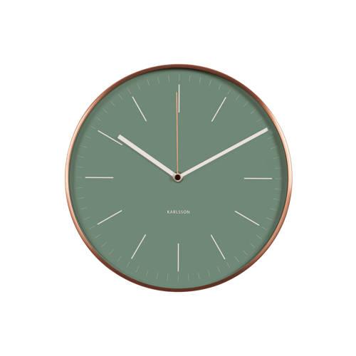 Karlsson Klokken wandklok (Ø27,5 cm) kopen