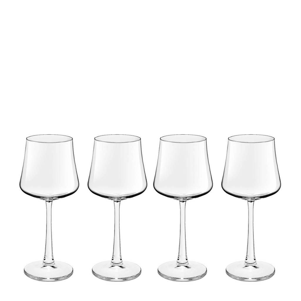 Royal Leerdam Wijnglazen.Royal Leerdam Finesse Novum Witte Wijnglas Set Van 4 Wehkamp