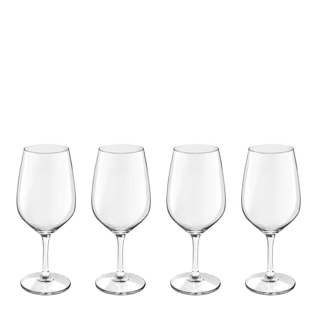 Royal Leerdam Wijnglazen.Royal Leerdam Finesse Novum Rode Wijnglas Set Van 4 Wehkamp