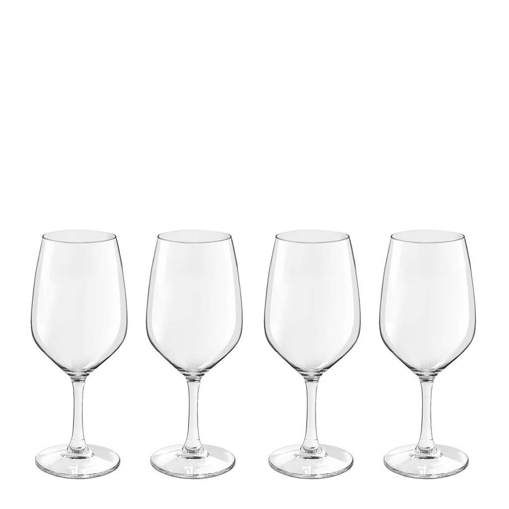 Royal Leerdam Finesse Novum witte wijnglas (set van 4), Transparant