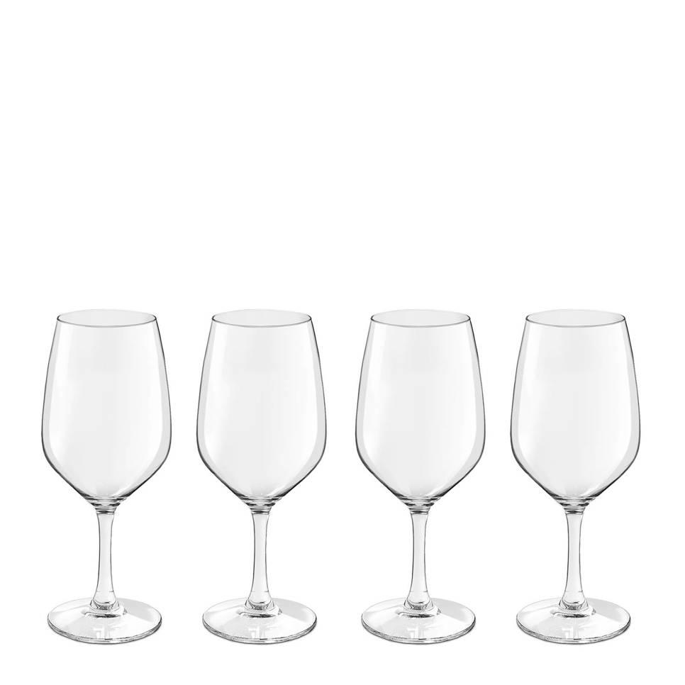 Royal Leerdam Finesse Novum witte wijnglas (set van 4) , Transparant