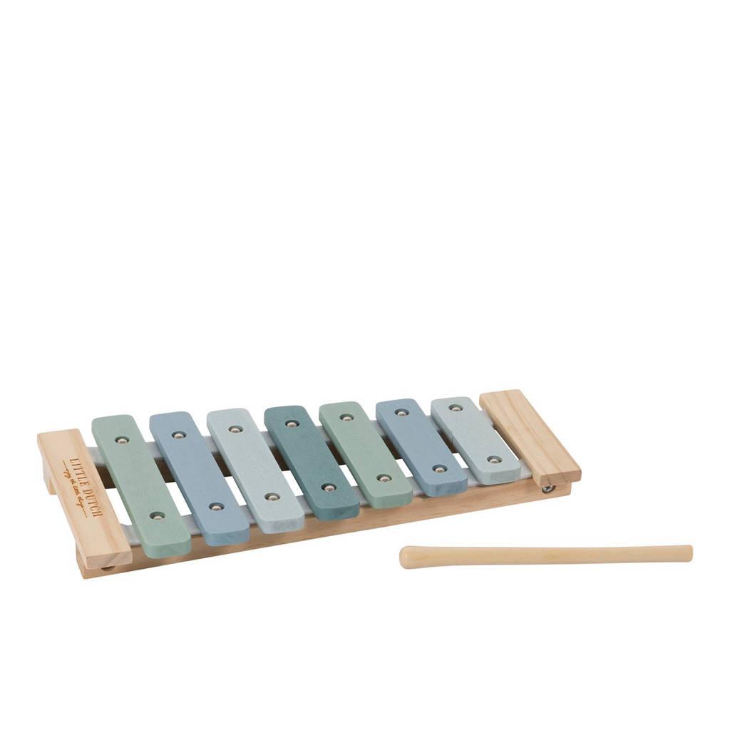 Little Dutch houten xylofoon, Blauw
