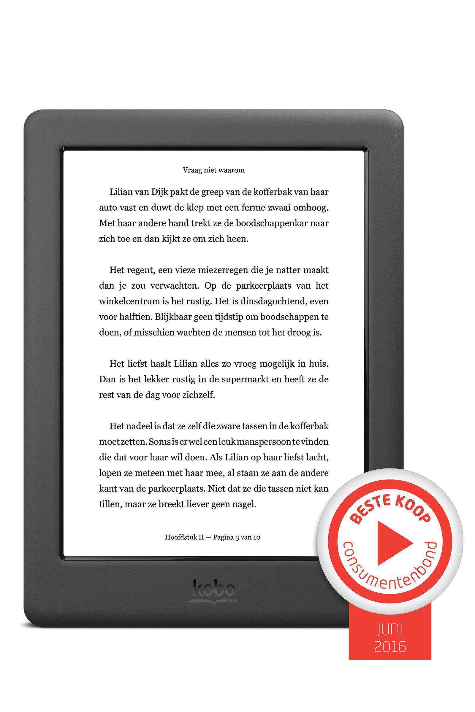 Kobo Glo HD e-reader   wehkamp