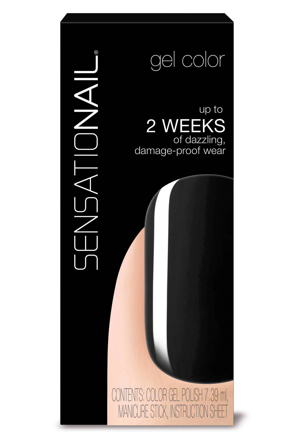 Sensationail gelnagellak - Midnight rendevouz