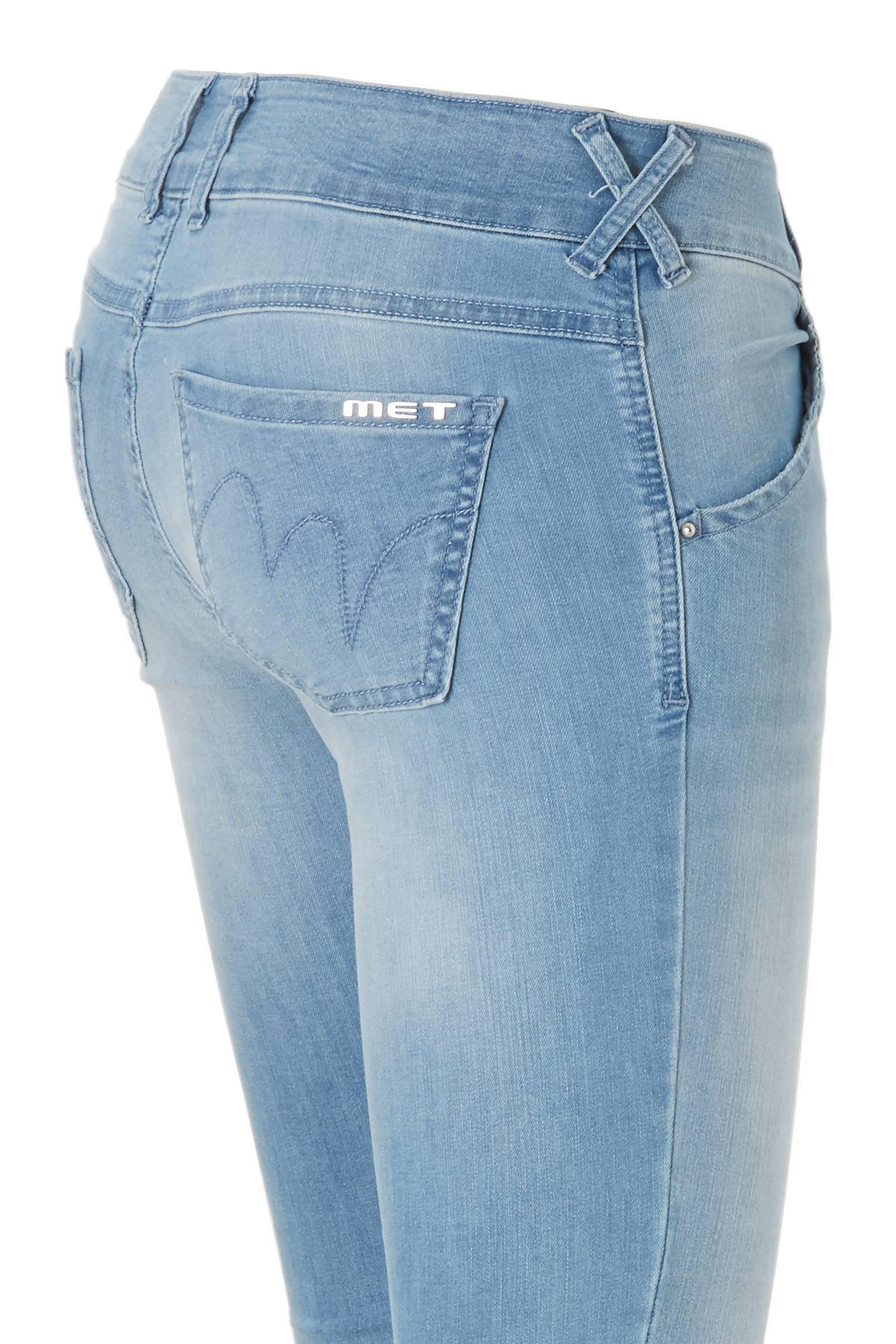 f9c9633314e X-H-K-FIT/O D1205 E47 medium waist skinny fit jeans
