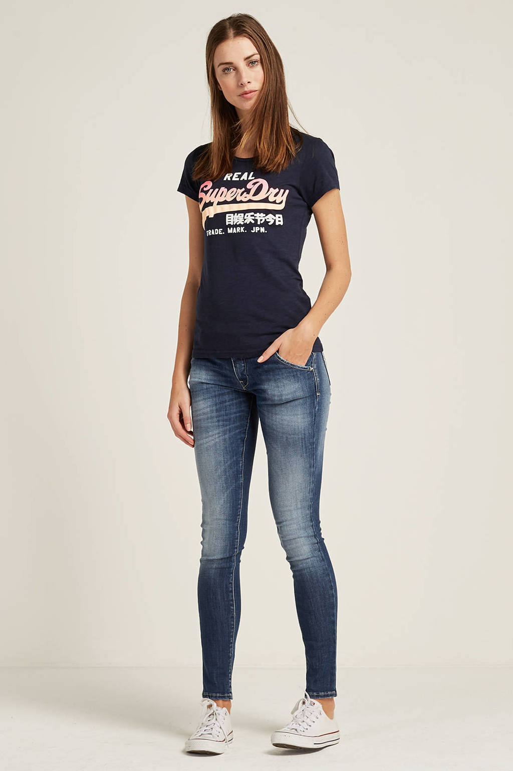 74bb0e3b5e6 MET Jeans X-H-K-FIT/O D1061 E47 medium waist skinny fit jeans | wehkamp