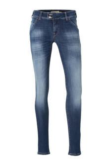 X-H-K-FIT/O D1061 E47 medium waist skinny fit jeans