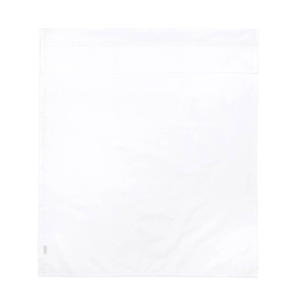 Meyco ledikantlaken met bies 100x150 cm wit/wit, Wit