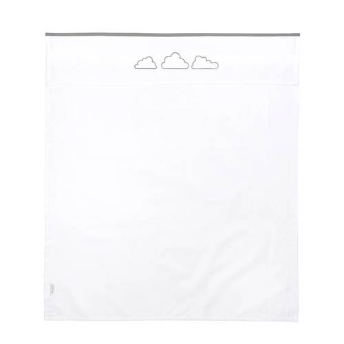 ledikantlaken Clouds 100 x 150 cm grijs