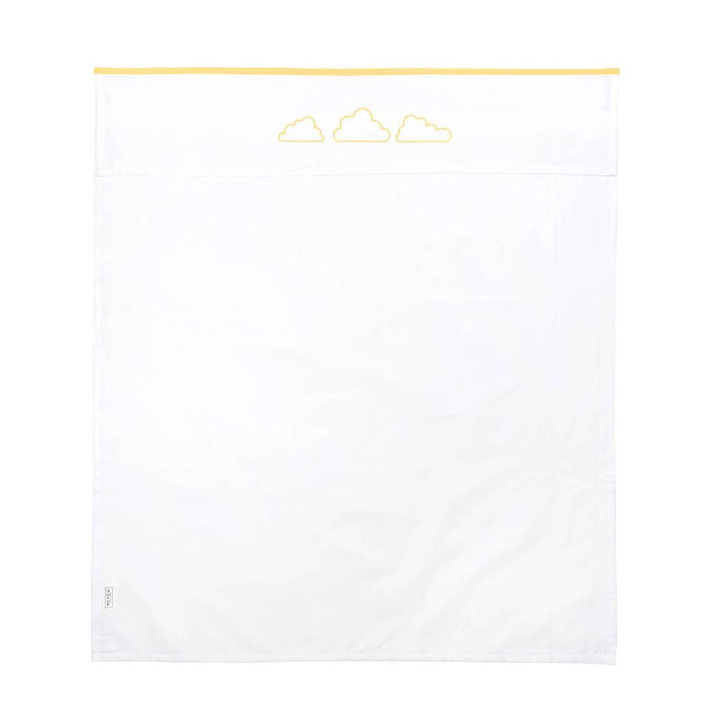 Meyco Clouds ledikantlaken 100x150 cm geel, Geel