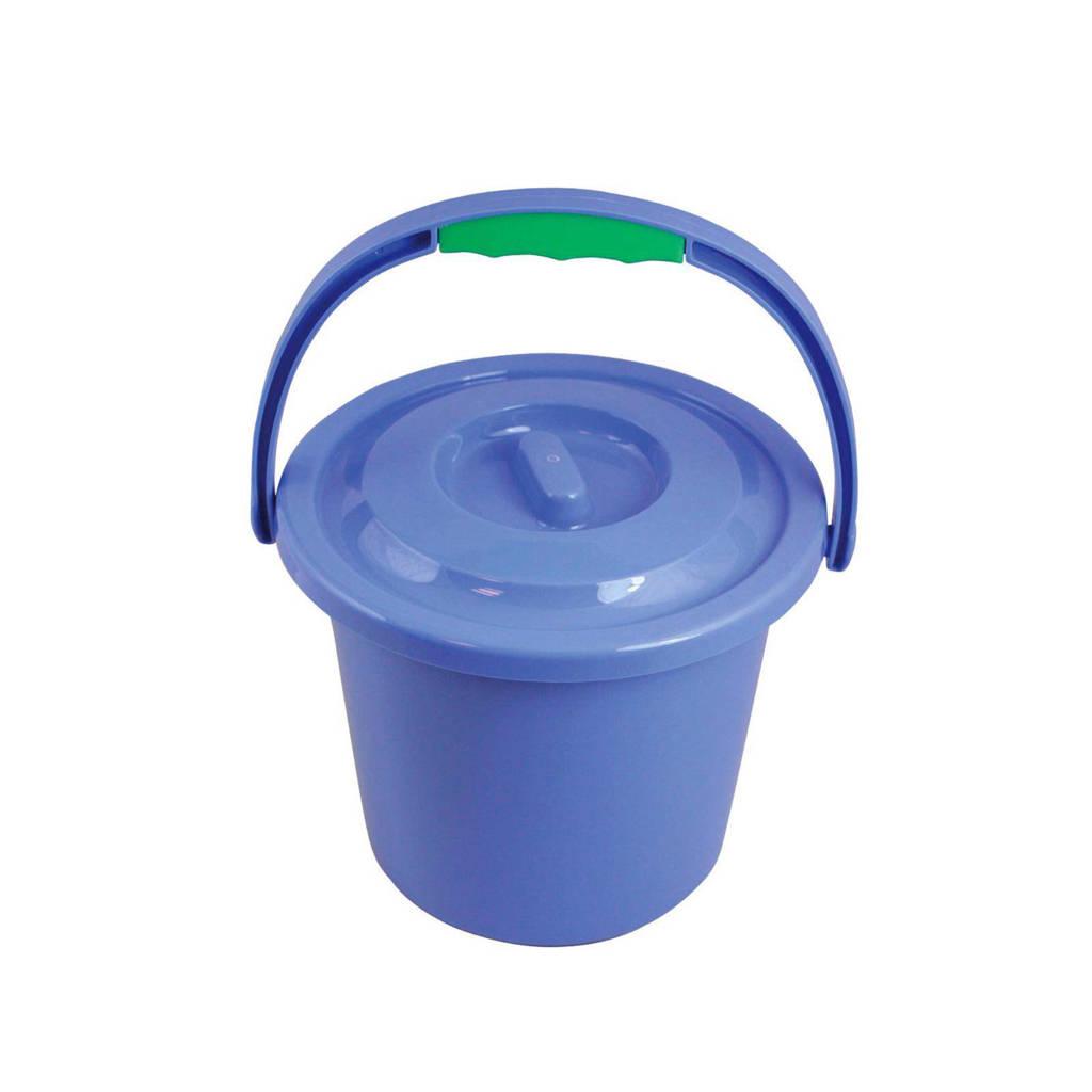 Vrijbuiter Outdoor Groot toiletemmer, blue
